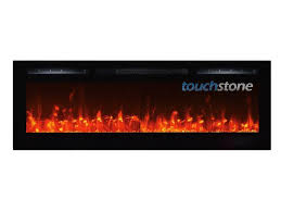 72 inch recessed electric fireplace