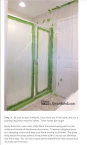 diy industrial shower door by jo