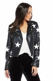 laura lane moto jacket faux leather