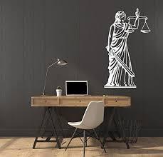 Vinyl Decal Wall Sticker Greek Goddess Justice Themis 561 Poshvinyls