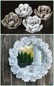 diy decorative mirror frame ideas and