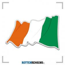 Ireland Waving Flag Irish Celtic Vinyl Decal Sticker Lh V4 Vinyl Decal Stickers Vinyl Decals Irish Celtic