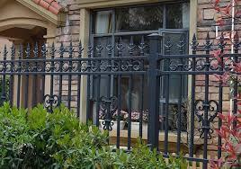 china customized aluminum garden fence
