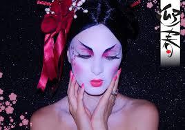 modern geisha makeup tutorial
