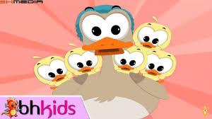 Nhạc Tiếng Anh Thiếu Nhi Vui Nhộn   Five Little Ducks   Numbers Song for  Children   Vui nhộn, Hình vui, Tiếng anh