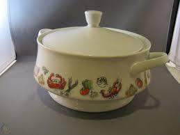Porcelain Soup Tureen Seafood 1983 NIB ...