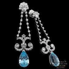 carl blackburn 18kt white gold diamond