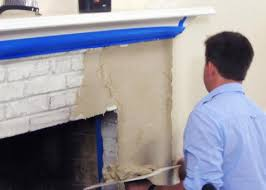 resurface a fireplace with stucco how