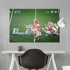 Kansas City Chiefs Nfl Logo Wall Decal Football Decor Art Mural Vinyl Sticker