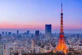 Japan City Skyline Wall Mural Tokyo Tower Photo Wallpaper Bedroom Office Decor Ebay