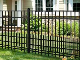 Lowes Black Aluminum Fence Home Design Interior Home Decor Iron Fence Wrought Iron Fences Aluminum Fence