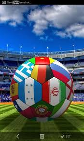 football 3d live wallpaper for android
