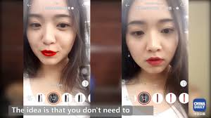 beauties with chinese selfie apps