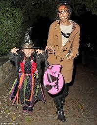 Halloween 2012: Myleene Klass takes daughter Ava trick or treating | Daily  Mail Online