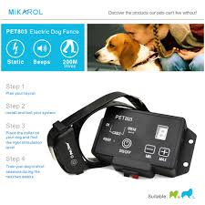 Wireless Dog Fence Pet Containment Waterproof Electric Transmitter Collar Mx