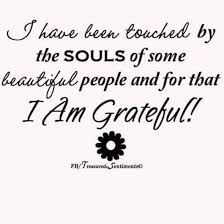 thank you for being one of those beautiful souls thankful