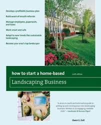 start a home based landscaping business
