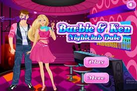barbie and ken nightclub date make up