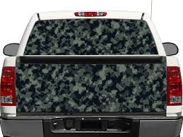Product Camo Camouflage Rear Window Or Tailgate Decal Sticker Pick Up Truck Suv Car