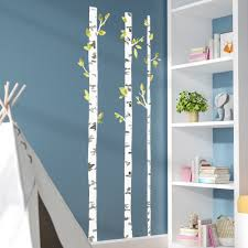 Viv Rae Tryon Birch Trees Wall Decal Reviews Wayfair
