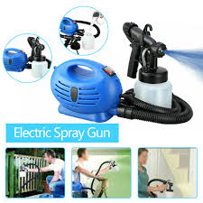 New Arrival 650w Portable Electric Paint Spray Tool Sprayer Hvlp Machine Fence Wall Furniture Lazada Ph