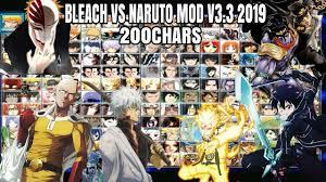 Bleach VS Naruto V3.3 MOD 200 Chars 2019 {DOWNLOAD} - YouTube