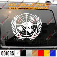 Un United Nation Vinyl Car Decal Bumper Sticker It S Your World Bumper Sticker Vinyl Car Decalvinyl Car Aliexpress