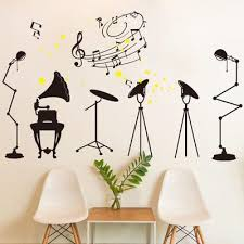 Removable Music Is Not Musical Notes Room Decor Art Vinyl Diy Wall Decal Sticker Buy At A Low Prices On Joom E Commerce Platform