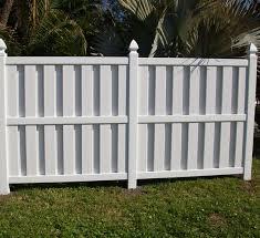 Sarasota Shadowbox Vinyl Semiprivacy Fence