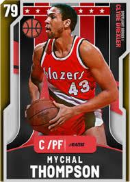 Mychal Thompson 79 Gold NBA 2K20 MyTeam Card - NBA2K.io
