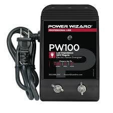 Buy Power Wizard Pw100 110v Plug In Electric Fence Charger Mega Depot