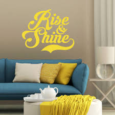 Shop Rise And Shine Wall Decal 36 Inch Wide X 30 Inch Tall Overstock 11149212