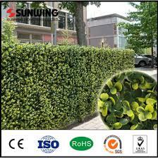 China Sunwing Decorative Fake Artificial Plastic Ivy Fence Covering China Fence Artificial Plant