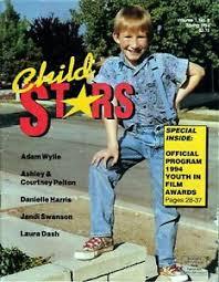 Child Stars Magazine Adam Wylie on Cover Spring 1994   eBay