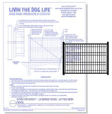 20 Cad Drawings Of Fences Gates For Privacy Security And Protection Design Ideas For The Built World