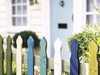 90 Painted Fences Ideas Fence Paint Fence Backyard