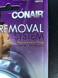 conair hair removal system replacement