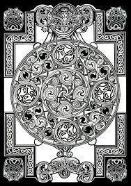 Celtic Mandala Kleurplaten Keltische Symbolen Kleurplaten