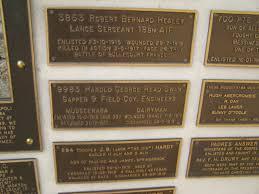 Mudgeeraba Elsie Laver Park Memorial Inscriptions