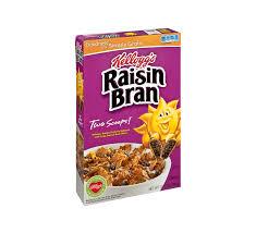 kellogg s raisin bran cereal