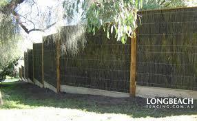 Brush Fences Frankston Bayside Suburbs Longbeach Fencing