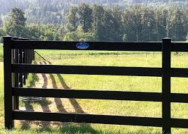 Black Horse Fence Vinyl Fence Wholesaler