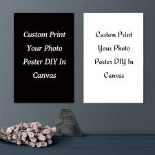 custom poster print your photo canvas