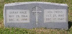 Ada Hale Owens (1880-1940) - Find A Grave Memorial