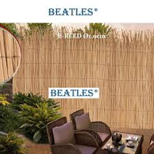 Artificial Plastic Synthetic Reed Fence Screening Beatlespark