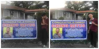 Guy Pranks Brother With Congratulatory Banner For Passing Driver S License Exam Coconuts Manila