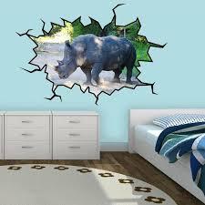 East Urban Home Rhino Wall Decal Wayfair