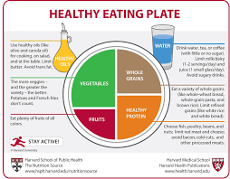 healthy eating plate vs usda s myplate