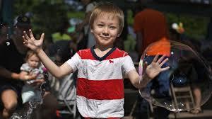 Parents, children play at Caras Park in Missoula for Kidsfest   Local News    missoulian.com