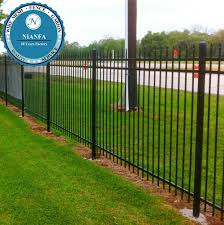 European Wrought Iron Residential Driveway Fence And Gate Design Guangzhou Factory View Metal Modern Gates Design And Fences Nianfa Product Details From Guangzhou Nian Fa Wire Mesh Factory On Alibaba Com